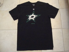 NHL Dallas Stars Hockey Insignia Sportswear Fan Apparel Black T Shirt Si... - $15.53