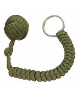 Trusted and Professionally Braided Monkey Fist Knot Keychain Green - $10.25