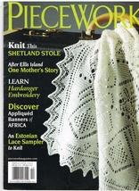 Back Issue of Piecework Needlework Magazine November December 2012 - $7.99
