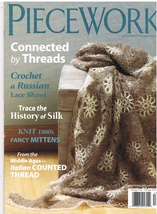 Back Issue of Piecework Needlework Magazine Nov... - $7.99