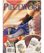 Back Issue of Piecework Needlework Magazine March April 1996 - $9.95