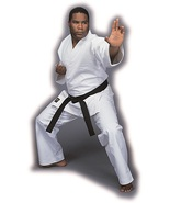 UK2104A  GT WHITE Heavyweight Traditional Karate Martial Arts Uniform Gi... - $64.00