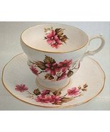 1900s ROSINA Fine ENGLISH BONE CHINA ROSE Pink Pansy - $21.99