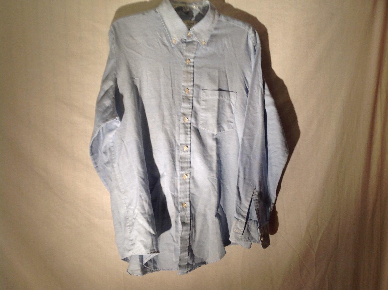 men's light blue Island shop casual long sleeve shirt