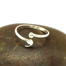 Sterling Silver Semicolon Ring- Mental Health Awareness, Suicide Depression image 3