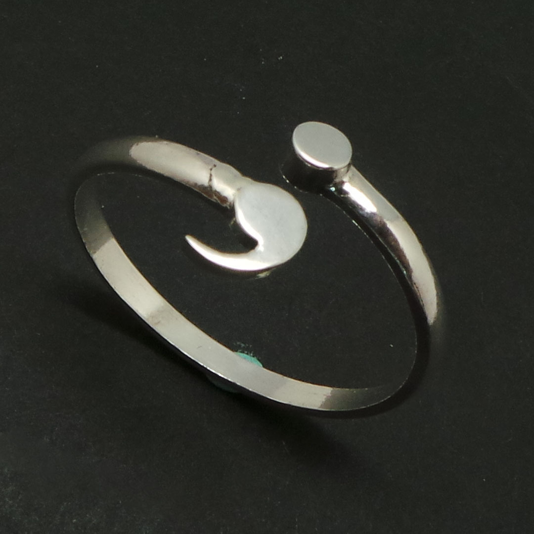 Sterling Silver Semicolon Ring- Mental Health Awareness, Suicide Depression image 10