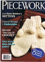 Back Issue of Piecework Needlework Magazine September October 2011 - $7.99