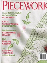 Back Issue of Piecework Needlework Magazine Mar... - $7.99
