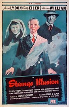 Strange Illusion Movie POSTER (1945) Thriller - $6.41+