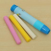 1 Set Press Type Pen Shape Eraser Rubber Eraser... - $11.13