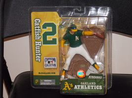 McFarlane MLB Cooperstown Collection Oakland Athletics Catfish Hunter Fi... - $24.99