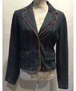 INC International Concepts Women Long Sleeve Denim Jacket Size Small S - $29.99