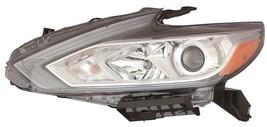Nissan Altima 2016 Halogen W/O Led Drl Left Headlight Head Light Lamp Chrome - $485.10