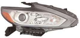Nissan Altima 2016 Halogen W/O Led Drl Right Headlight Head Light Lamp Chrome - $485.10