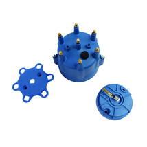 A-Team Performance Pro Series Distributor Cap & Rotor Kit 6-Cylinder Male Fits A
