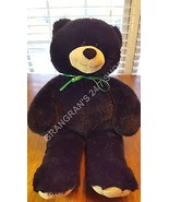 "Build a Bear Workshop BABW Teddy Bear says I LOVE YOU! Black plush large 18""EUC - $14.99"