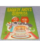 Raggedy Andy's Surprise Wonder Book 604 Raggedy Ann's Companion - $7.95