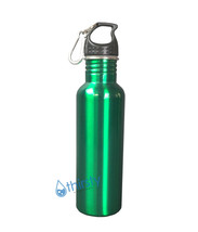 Stainless Steel Mug Green Container Water Bottle BPA Free Thermos Cantee... - $193,54 MXN