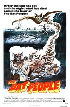 The Bat People Movie POSTER (1974) Horror/Monster movie - $6.07+