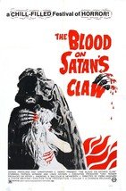 The Blood on Satan's Claw Movie POSTER (1971) Horror - $6.07+