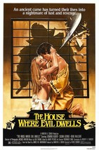 The House Where Evil Dwells Movie POSTER (1982) Horror/Japanese Movies - $6.41+