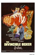 The Invincible Boxer movie POSTER (1973) Kung-Fu - $6.07+