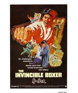 The Invincible Boxer movie POSTER (1973) Kung-Fu - $6.28+