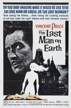 The Last Man on Earth Movie POSTER (1964) Thriller/Indie - $6.07+