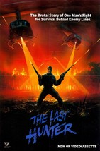 The Last Hunter Movie POSTER (1980) Thriller/Drama - $6.01+