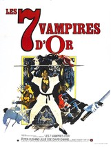 The Legend of the 7 Golden Vampires Movie POSTER (1974) Action/Adventure - $6.01+