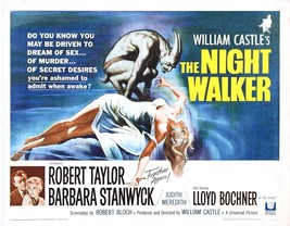 The Night Walker Movie POSTER (1964) Thriller/Mystery - $6.07+