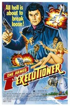 The One Armed Executioner Movie POSTER (1981) Action/Drama - $6.07+