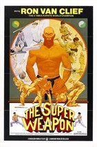 The Super Weapon Movie POSTER (1976) Documentary - $5.95+