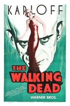 The Walking Dead Movie POSTER (1936) Black and white/Horror - $6.63+