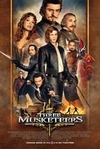 The Three Musketeers Movie POSTER (2011) Action/Romance - $6.28+