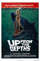 Up from the Depths Movie POSTER (1979) Horror - $6.41+