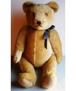 A Large Vintage Golden Mohair Hermann Bear, c.1... - $292.05