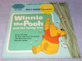 Walt Disney Winnie the Pooh and the Honey Tree Long Play Childs Record 33.33 RPM - $6.00