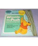 Walt Disney Winnie the Pooh and the Honey Tree Long Play Childs Record 3... - $5.95