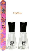Sally Hansen Insta-dri Fast Dry Nail Color #01 Clearly Quick (Pack Of 2)+ Fre... - $14.99