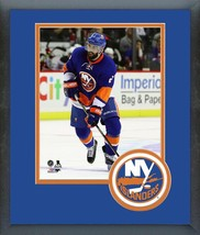 Nick Leddy 2016-17 New York Islanders-11 x 14 Team Logo Matted/Framed Photo  - $42.95