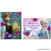 FROZEN Party Invitations Thank Notes  Birthday Decoration Princess Disne... - €7,93 EUR