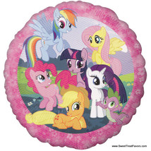 My Little Pony Party Birthday Favors Balloon Decoration Gift Mylar Pink ... - $5.92