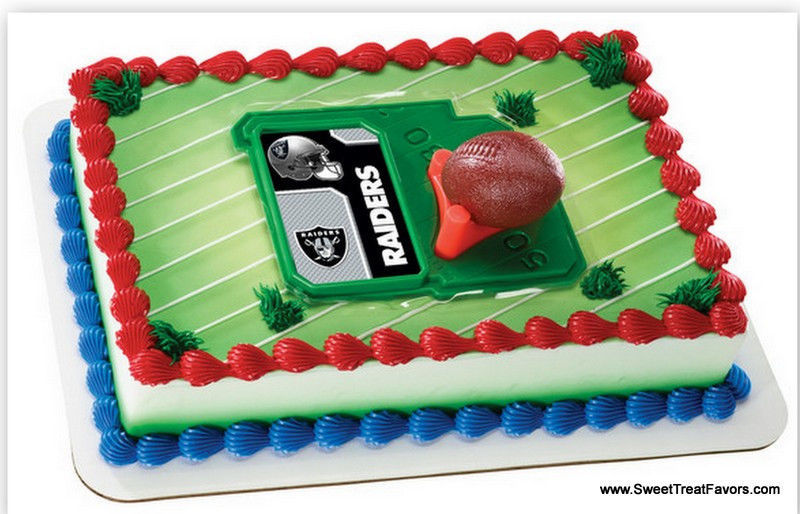 Stupendous Raiders Football Nfl Cake Topper Decoration And 39 Similar Items Funny Birthday Cards Online Inifofree Goldxyz