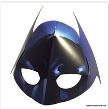 BATMAN Party Birthday MASKS Decoration Heroes Justice League Treats Favors x8 NW - $8.86