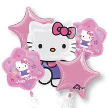 HELLO KITTY BALLOON Party Favor Supplies Birthday BOUQUET Mylar Decorati... - $14.31