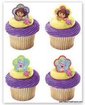 DORA the Explorer CupCake Cake Topper 12 18 24 Favors Decoration Boots B... - $6.88+