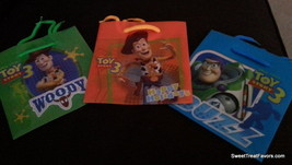 Toy Story 3 Party Gift Birthday Decoration BAGS Favors x12 Loots Woody B... - $16.78