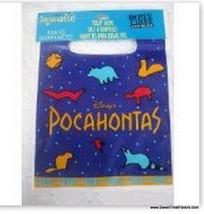 Pocahontas John Party Favor Bags Supplies Birthday Decoration Princess India 8 Mr - $6.91