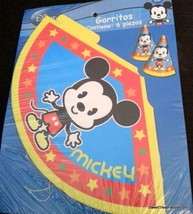 Mickey Mouse Cuties Party Supplies HATS Birthday Decoration Favors Treat... - $8.86